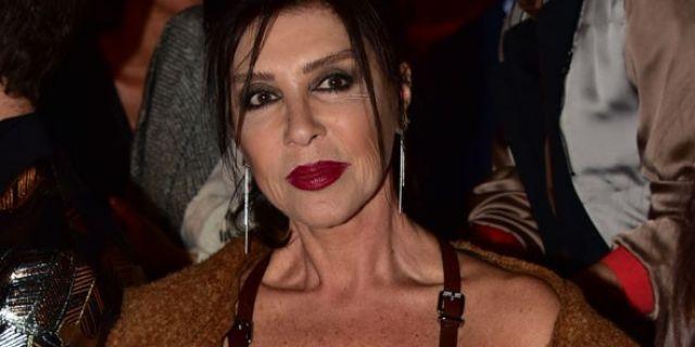 Nebahat Çehre, Fashion Week'e damgasını vurdu