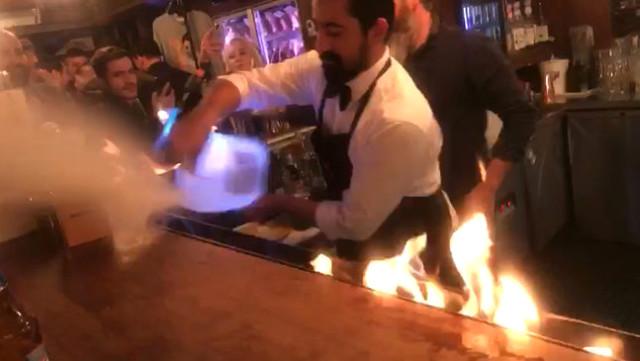 Nusret Gökçe'nin Restoranında Yanan Kadın, Masa Beklerken Alevler İçinde Kaldıklarını Söyledi